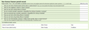 維多利亞州換駕照申請單 寫教學4